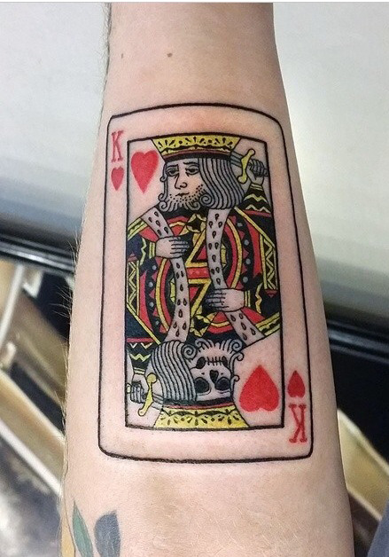2014 august under the needle for Suicide kings tattoo